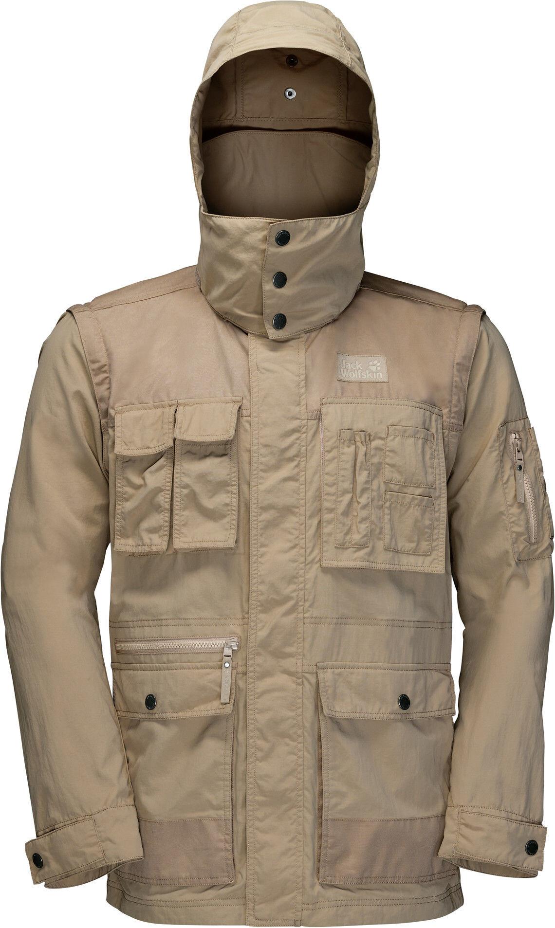 Jack Wolfskin Atacama - Veste Homme - beige sur CAMPZ ! 90aeda039556